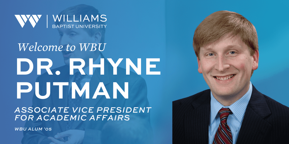 Rhyne Putman to Join Williams Baptist University